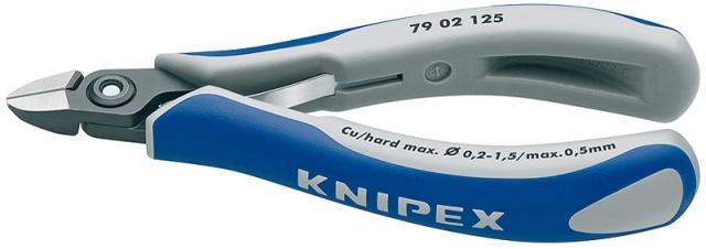 Knipex 7902125 kleště štípací boční na elektroniku