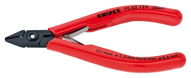 Knipex 7502125 boční štípací kleště pro elektroniku 125mm