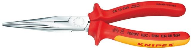 Knipex 2616200 Půlkulate kleště s břity 200mm VDE
