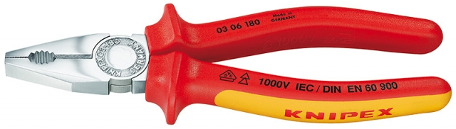 Knipex 0306180 kleště kombinované 180mm VDE