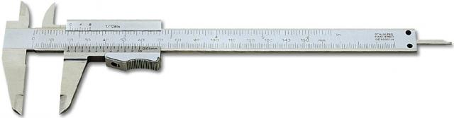 Měřítko posuvné 150 mm monoblok, tlačítko (106017)