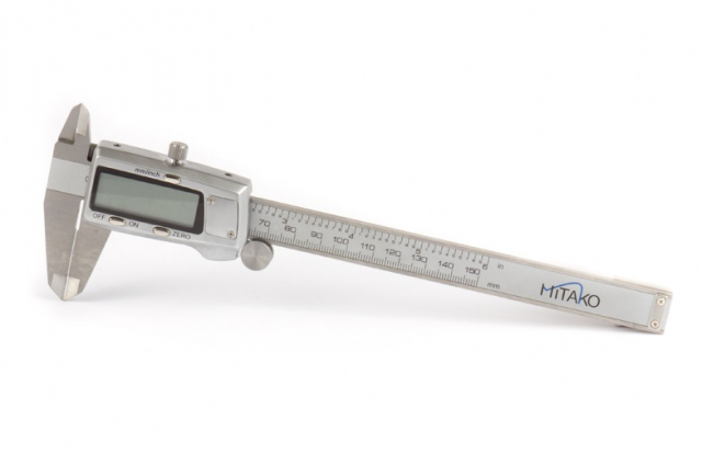 Měřítko posuvné digitální 150 mm nerezové Mitako 106045
