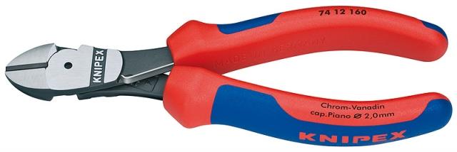 Knipex 7412160 silové boční štípací kleště 160mm