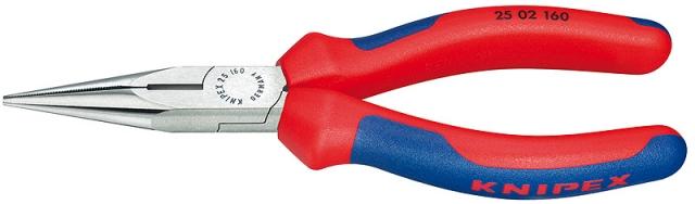 Knipex 2502160 kleště půlkulaté s břity 160 mm