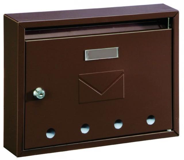 Schránka poštovní IMOLA-E hnědá