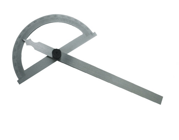 Úhloměr s otočným ramenem 0-180st. 8 cm (106298)