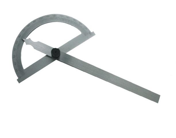 Úhloměr s otočným ramenem 0-180st. 12 cm (106299)