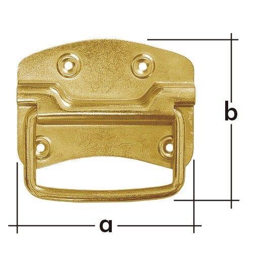 Držák bednový US115 115x80mm 8832