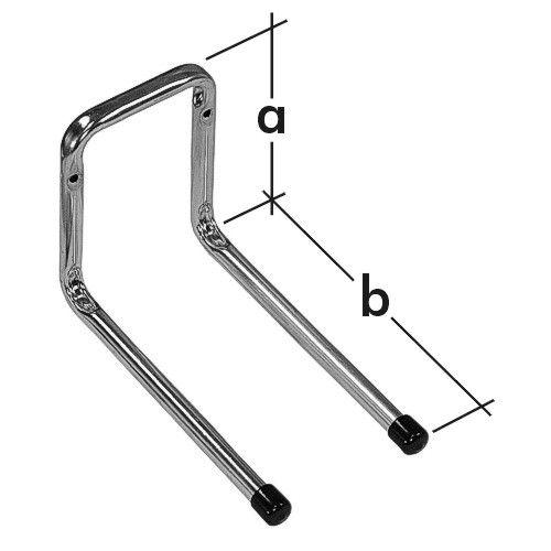 Hák dvojitý rovný H2P 180
