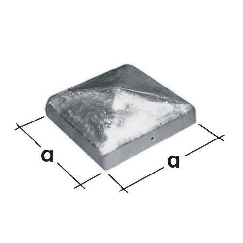 Stříška čtvercová DK70 70x70mm 4985