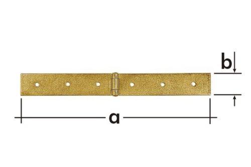 Závěs stavební Z 200 a  200x35mm 8031
