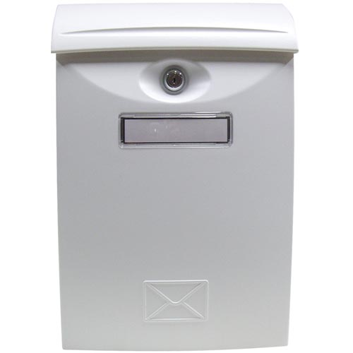 Schránka poštovní ABS 240x340 BÍLÁ