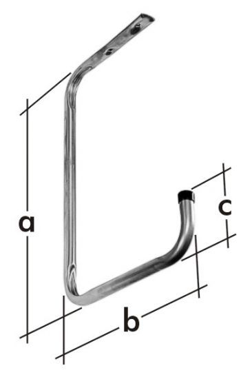 Držák stropní jednoduchý HSP