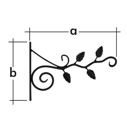 Držák na závěsný květináč UK 5 - větvička