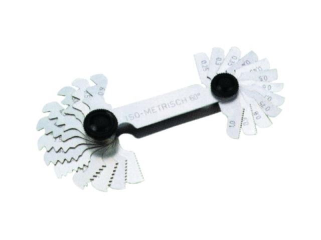 Měrky závitové 0,25 - 6 mm (106007)