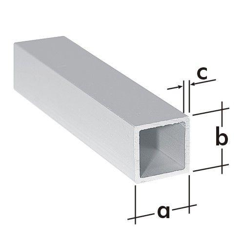 Trubka čtvercová ALU 15x15mm/1m PRK 2 A 77001
