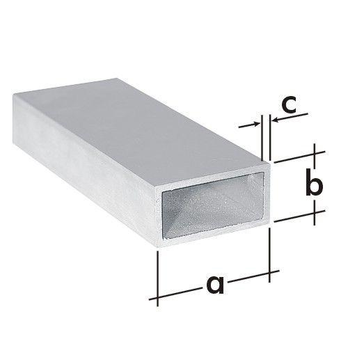 Trubka obdélníková ALU 50x20mm/1m PRP 4 A 77121