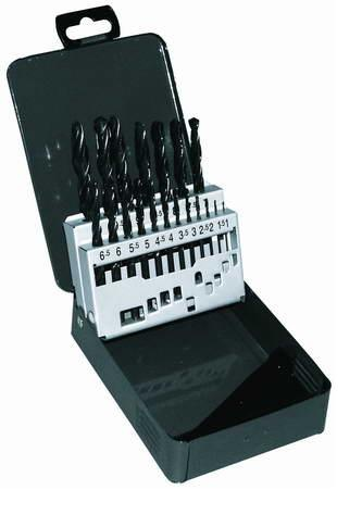Sada vrtáků HSS 19ks /1-10 x 0,5mm/ (78.A205210)