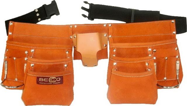 Pás kožený 3 - řadý Becco (102802)