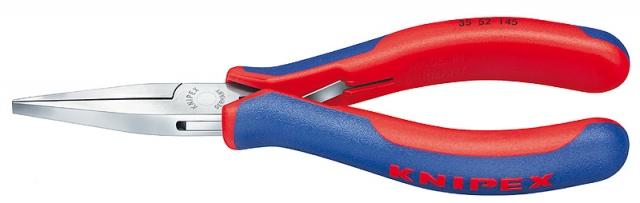Knipex 3552145 montážní kleště pro elektroniku ploché dlouhé čelisti