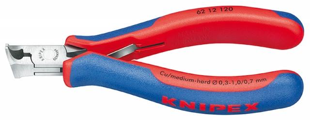 Knipex 6212120 štípací kleště s šikmými břity pro elektroniku