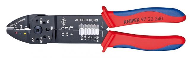 Knipex 9722240 lisovací kleště na kabelové konektory