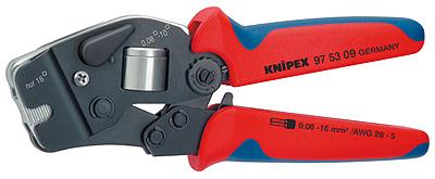 Knipex 975309 samonastavitelné kleště pro lisování kabelových koncovek