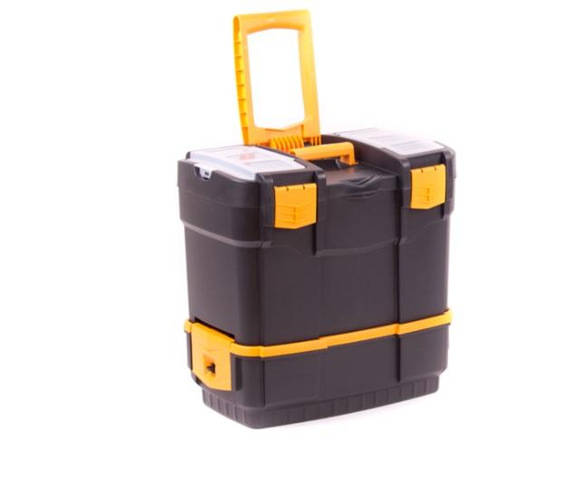 Skříňka 2dílná - kufr plastový 46x28x45 cm (102023)