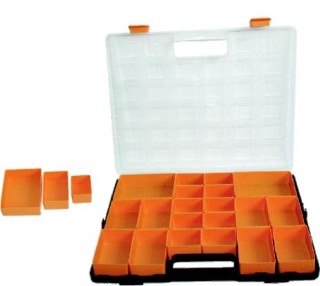 Organizér s vyjímatelnými boxy 37x31 cm (102122)