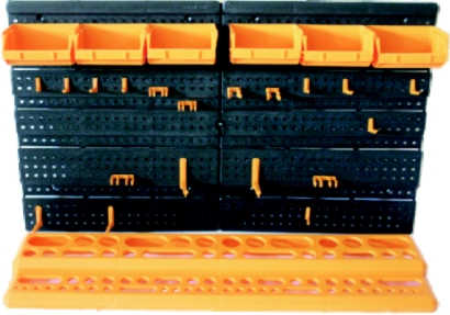 Organizér s boxy a držáky (102128)