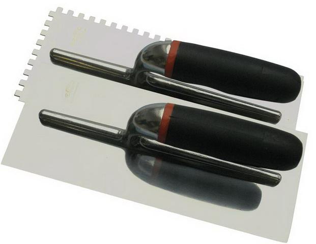 Hladítko nerez 280x120mm  zub 6 profi Becco 104834