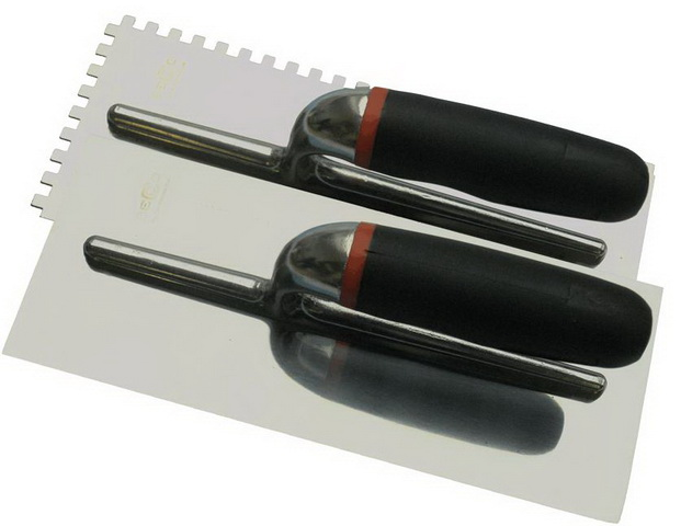 Hladítko nerez 280x120mm zub 10 profi Becco 104836