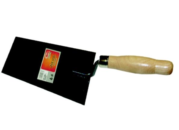 Lžíce zednická - černá ocel 160 mm (104286)