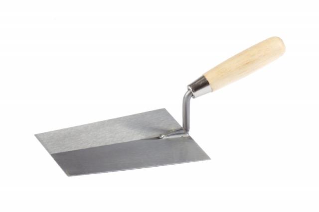 Lžíce zednická 18 x 13 cm broušená ocel (104290)