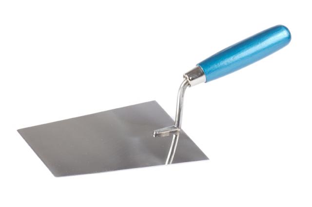 Lžíce zednická nerez 180 mm - dřevěná lakovaná ručka (104289)