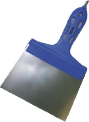 Špachtle nerezová s bitem 160 mm - rovná (104355)