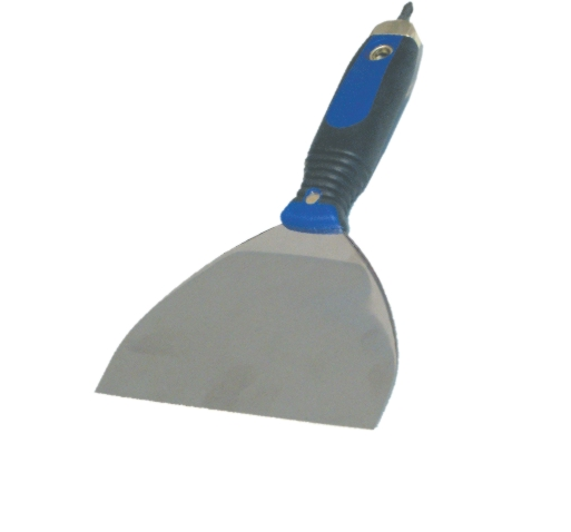 Špachtle nerezová s bitem 160 mm - oblá (104338)