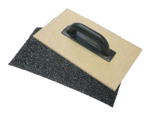 Hladítko brusné 350x200 mm černé (104223)