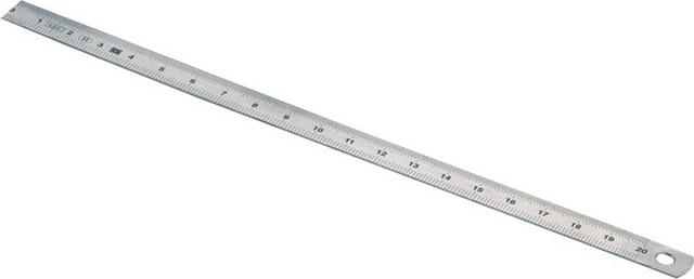 Měřítko ocelové neohebné 1000mm š.25mm tl.1mm (106213)