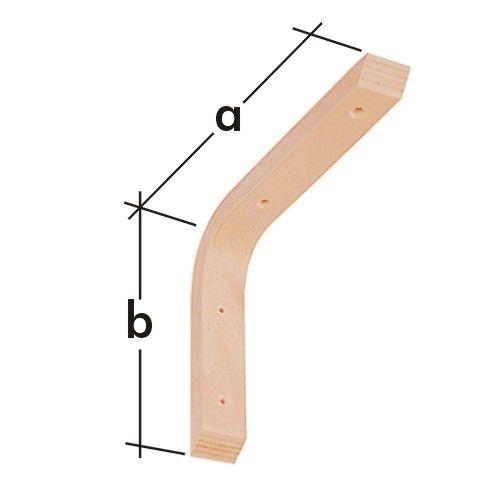 Konzola dřevěná WDG 250