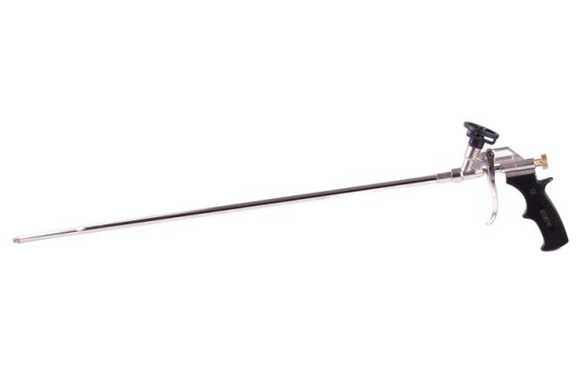 Pistole na PU pěnu prodloužená 60 cm, kovová MasiPro 107045