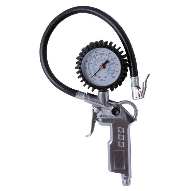 Pistole foukovací s manometrem (48010)