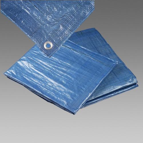 Plachta zakrývací standard 4x5m modrá (25020)