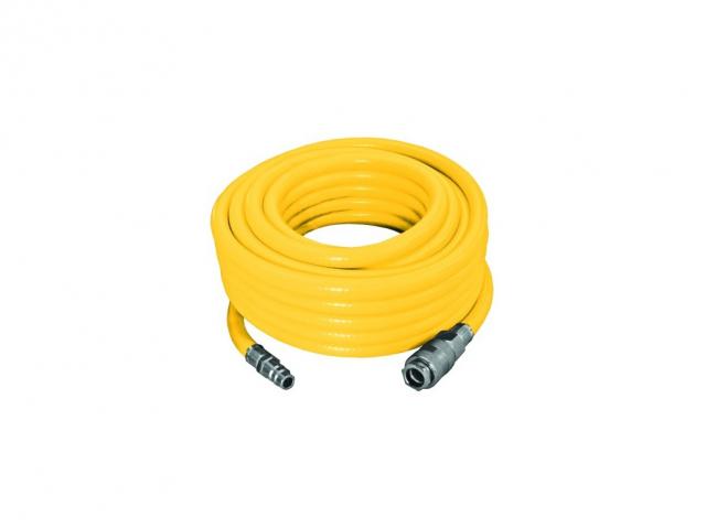 Hadice tlaková PVC opletená  9/15 mm    5 m  s rychlospojkami STOP
