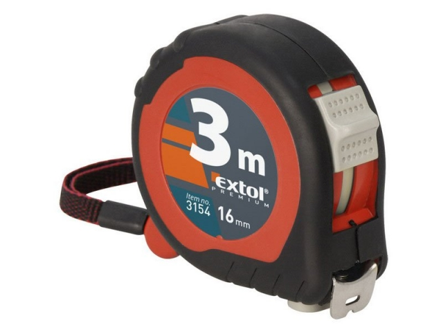 Metr svinovací, 7,5m, š. pásku 25mm Extol Premium 3157