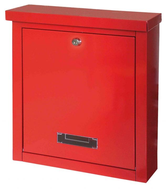 Schránka poštovní BRIGHTON červená