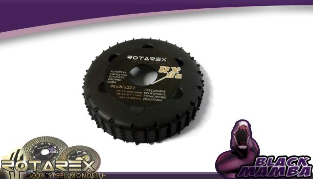 Rašple rotační RX frézovací 90 mm