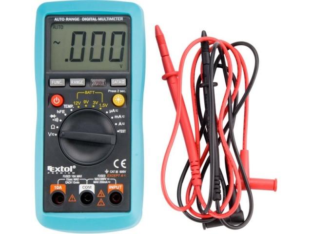 Multimetr digitální s automatickou volbou rozsahů (8831250)