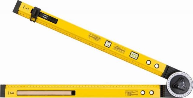 Topex 30C321 Úhloměr stavitelný 500 mm 2 libely