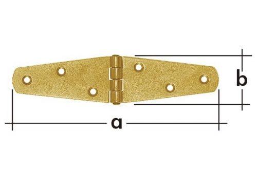 Závěs trojúhelníkový splétaný ZTS150 150x35 8085